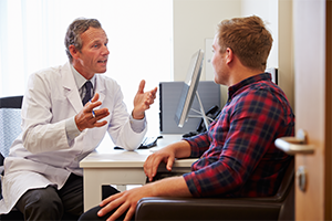 Vasectomy Discussion Between Doctor and Patient